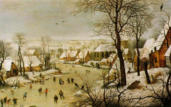 Bruegel_1565_Winter-scene-with-a-bird-trap_WIK