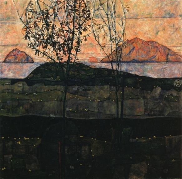 Egon Schiele Landscape 1913