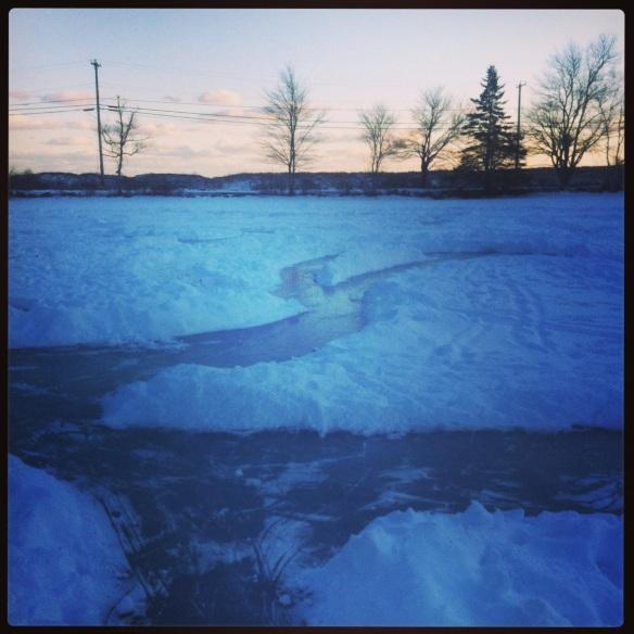 ice skating maze