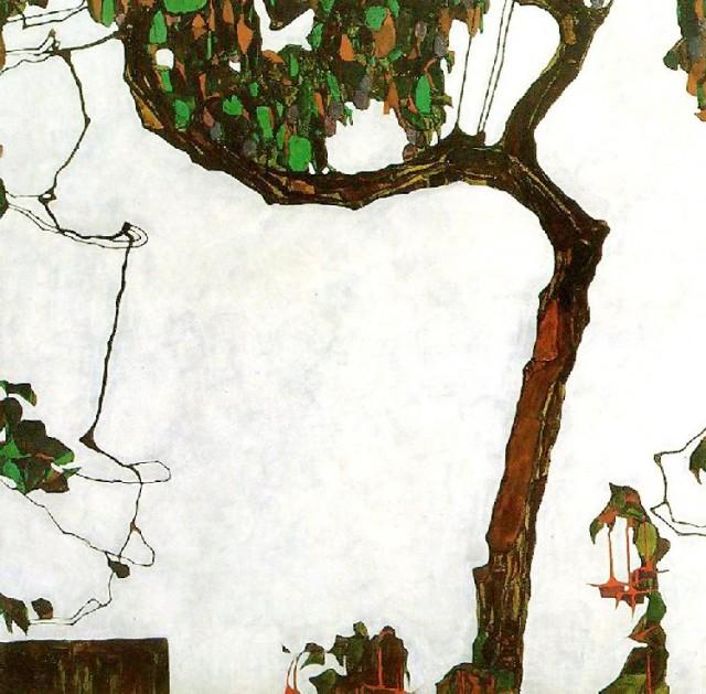Egon Schiele - Autumn Tree