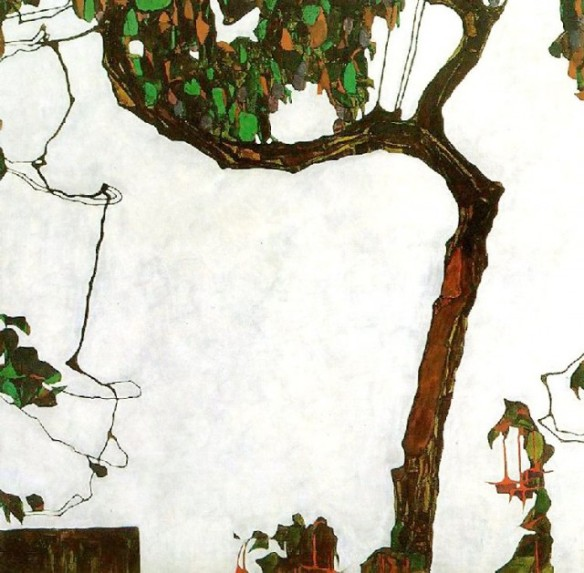 Egon Schiele - Autumn Tree